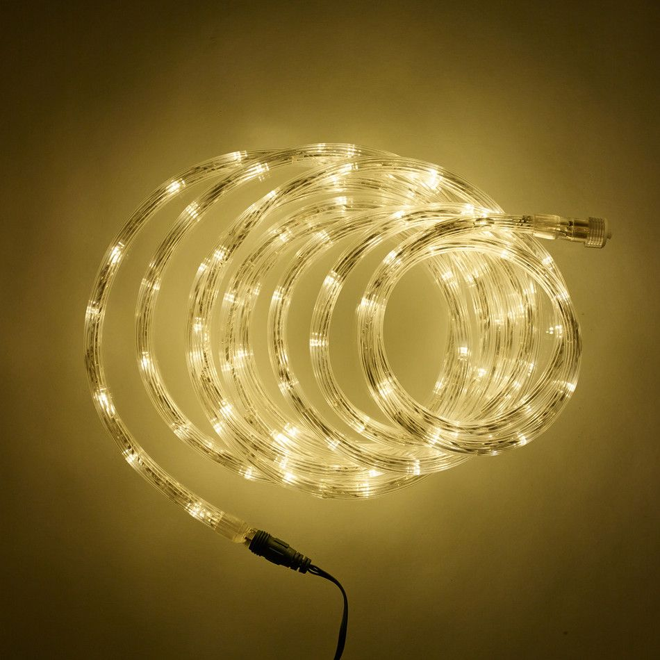 5m Warm White Led Connectable Rope Light Type U With Images