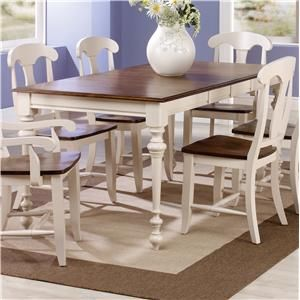 Canadel Custom Dining Customizable Rectangular Table With Legs New Beachy Dining Room Sets Design Inspiration