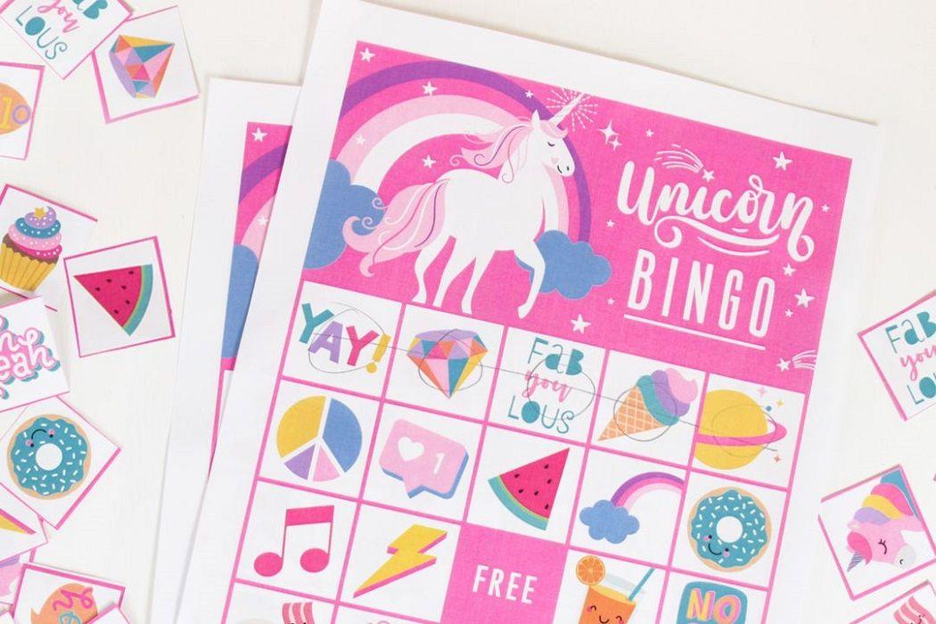 Diy Unicorn Party Boxes Free Printables Party Delights Blog Unicorn Themed Birthday Unicorn Birthday Party Decorations Unicorn Games