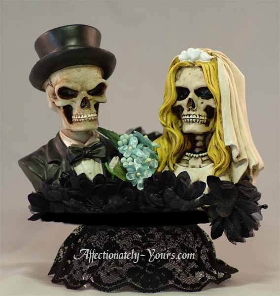 Love Beyond The Grave Morbid Wedding Or Anniversary Personalized