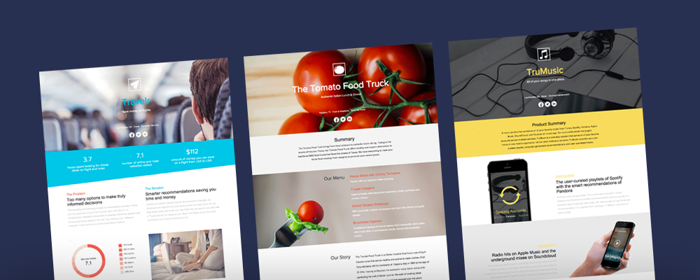 Top 10 One Pager Startup Templates To Convey 10