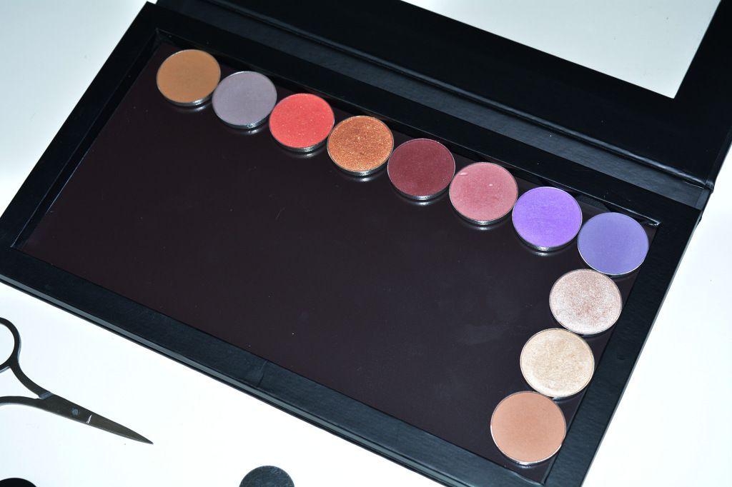 My Kit Co magnetic palette! Dupe for Z-palette