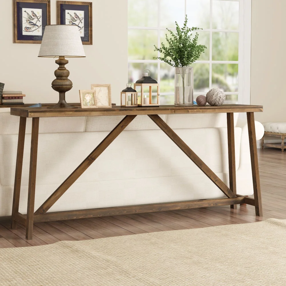 Overstock Com Online Shopping Bedding Furniture Electronics Jewelry Clothing More In 2020 Sofa Table Design Long Sofa Table Rustic Sofa Tables