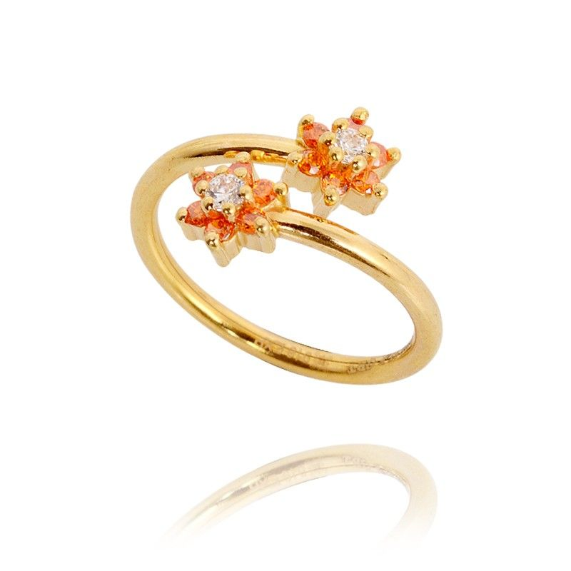 Rings 22KT Love Gold Spiral Ring GRT Jewellers