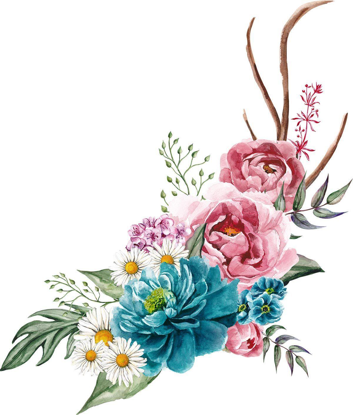 Цветочные бохо-картинки В прикрепленном архиве все ...