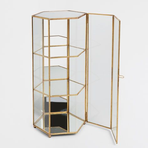 DECORATIVE GLASS DISPLAY CASE   Decoration Accessories   Decoration | Zara  Home Jordan