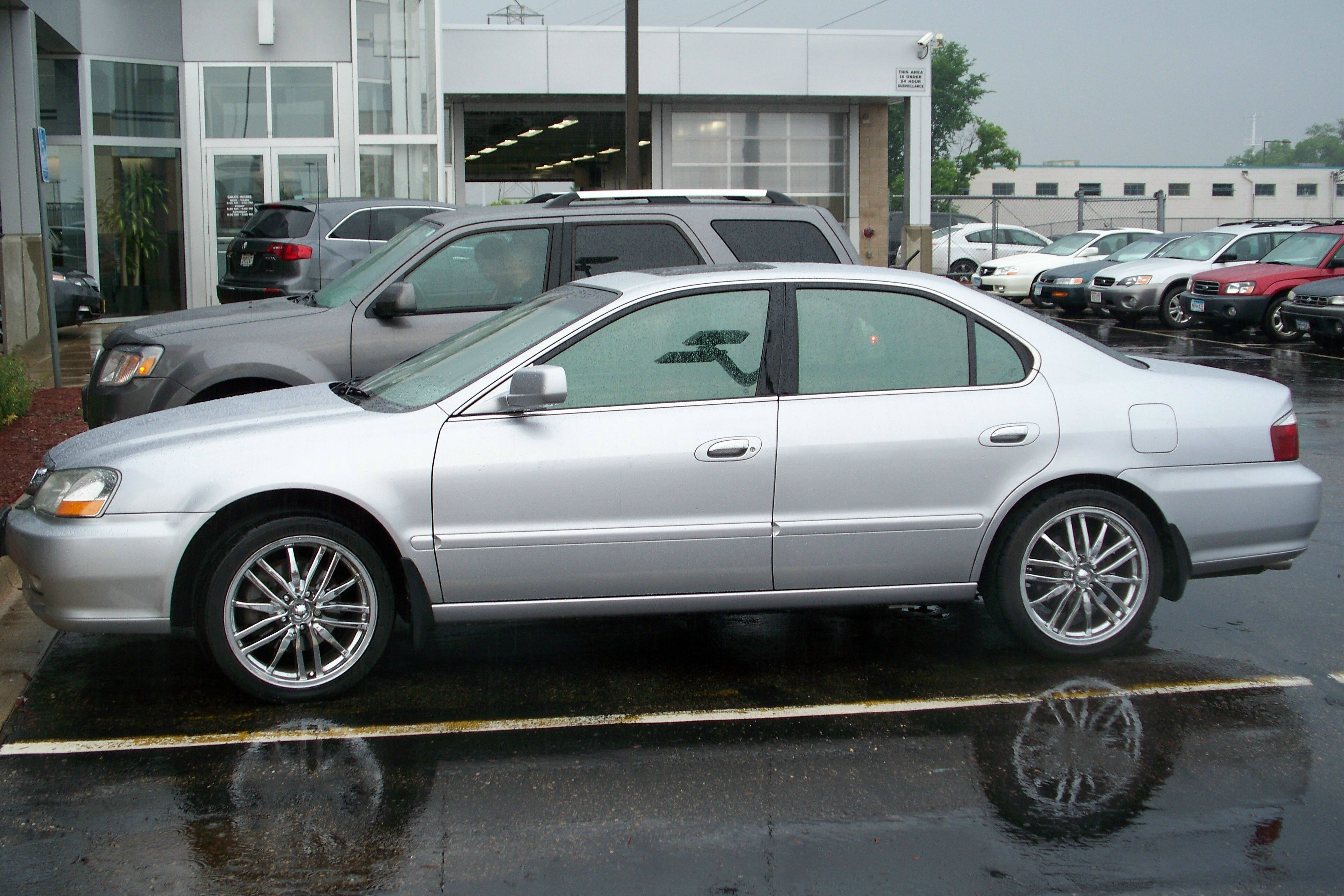 My Acura TL Type S With Its Summer Wheels Automobiles - Acura type s wheels