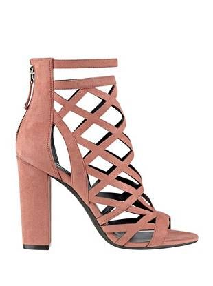 48066144ed3c Eriel Caged Heels at Guess