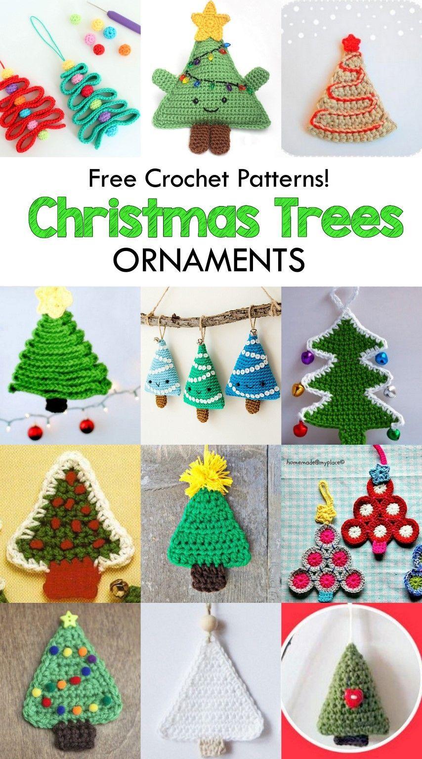 Amigurumi Crochet Christmas Tree Free Crochet Patterns Crochet Christmas Tree Amigurumi Christmas Crochet Patterns Crochet Xmas Crochet Christmas Decorations