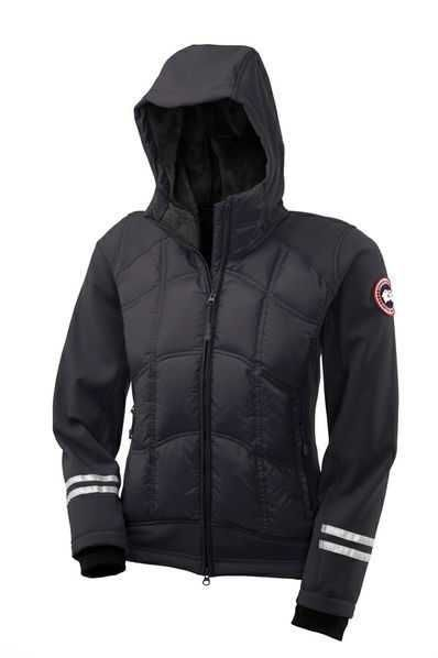 canada goose hybridge hoody black for men men canada goose rh pinterest com