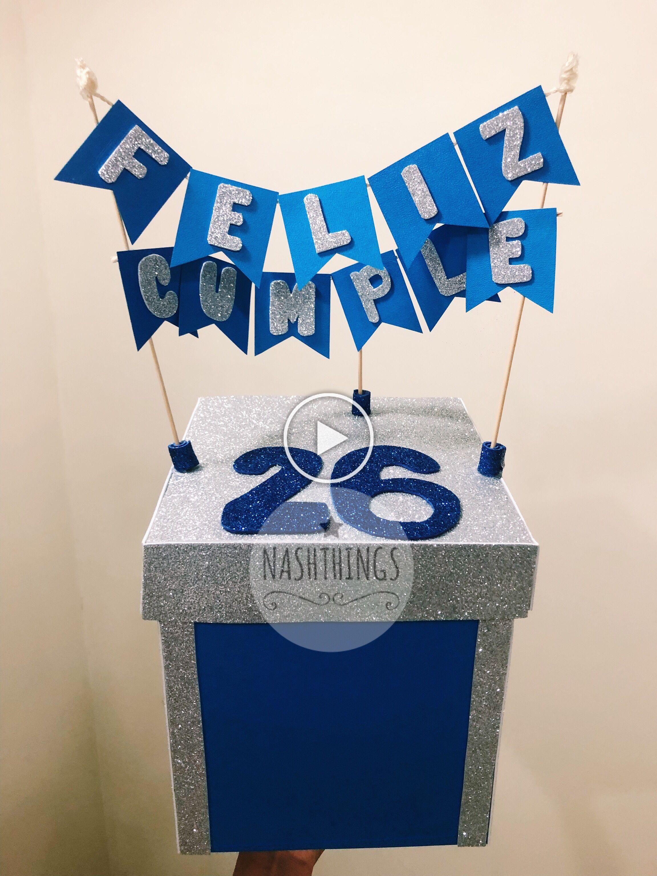 Cajitas Personalizadas Happy Birthday Gifts Bff Birthday Gift Diy Birthday Gifts