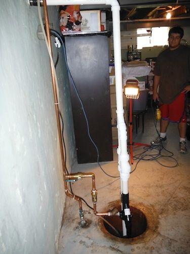 Naperville Plumbers Sump Pump Rebuild After Sump Pump Water Heater Repair Sump Pump Repair