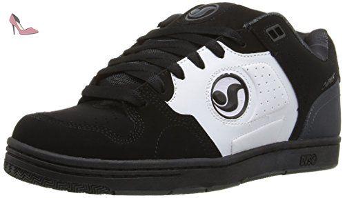 DVS Revival 2, Chaussures de Skateboard Homme, Noir (Black Leather Nubuck Anderson), 43 EU