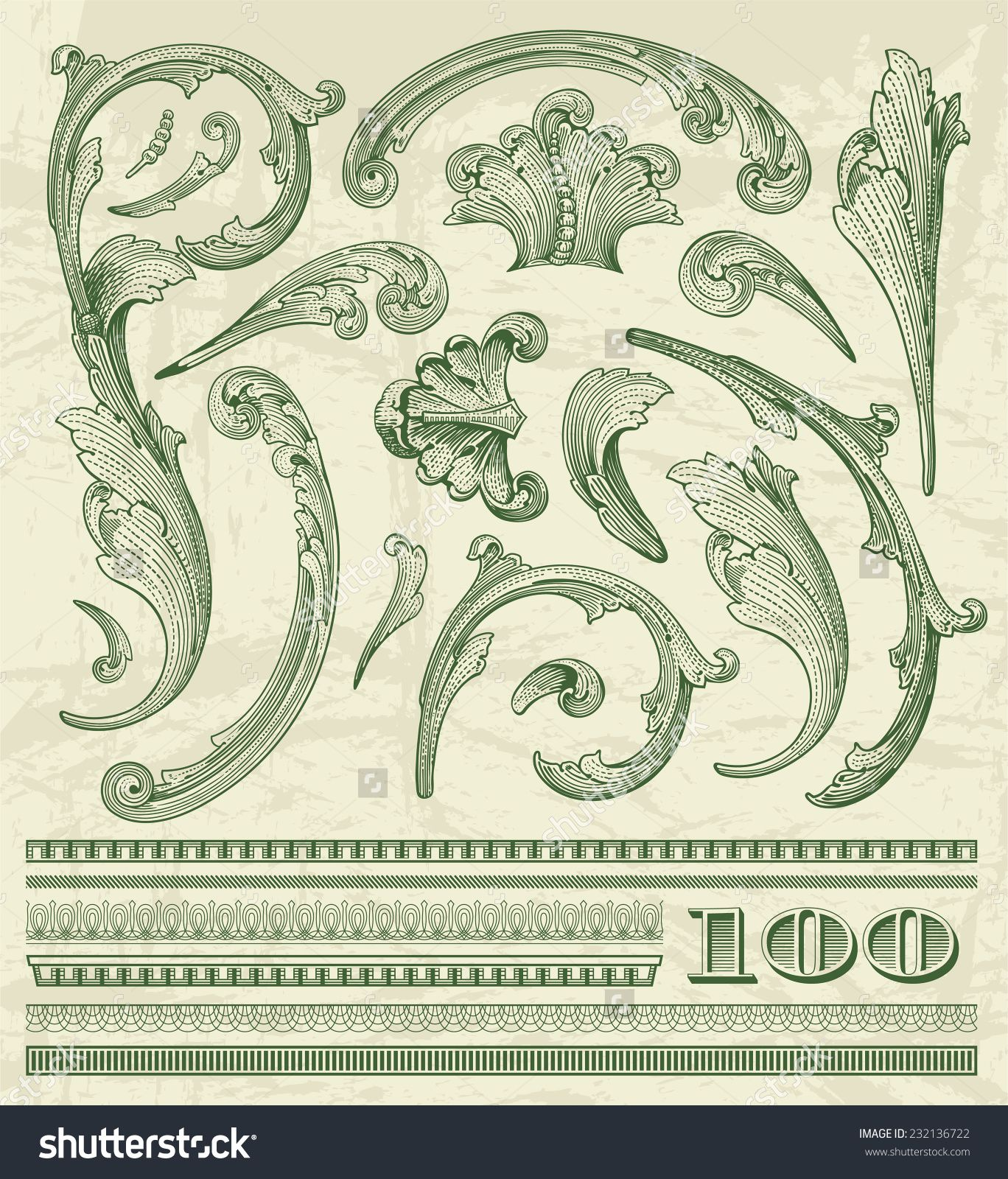 5416c3cda20 dollar sign filigree vector - Google Search