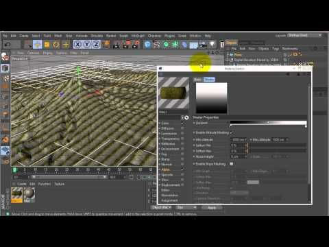 Creating Animated Maps in C4D With DEM Data - Lesterbanks Tuts