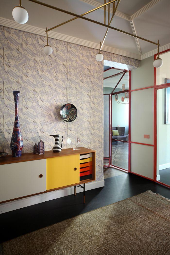 Une maison sur la lagune à Venise Interiors, Space furniture and