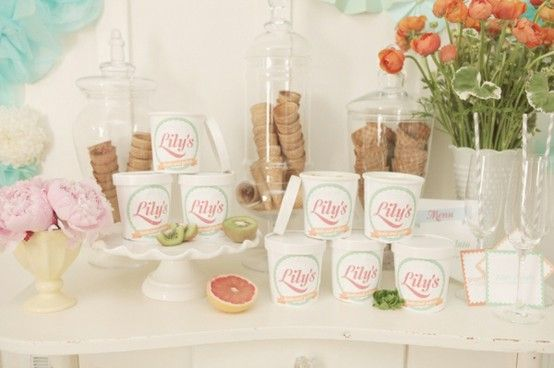 All the bridal party ideas you can handle!: Ice-Cream