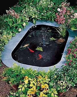 Build A Backyard Fish Pond For Koi Or Water Gardens | Sleek Home