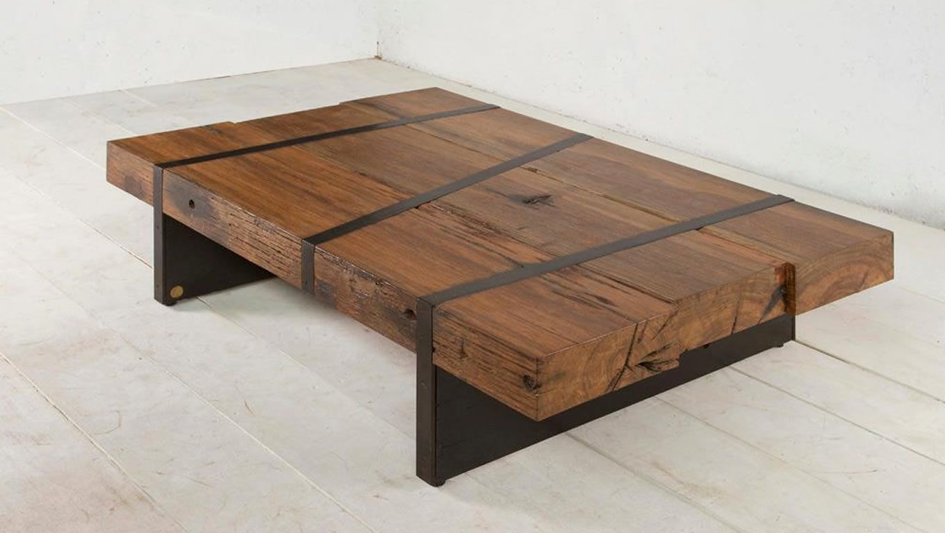 table design ideas. Sustainable-Digby-Beam-Table-Design-by-Aellon-New- Table Design Ideas