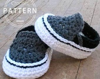PATRON Zapatillas crochet estilo Air Jordans . Descarga