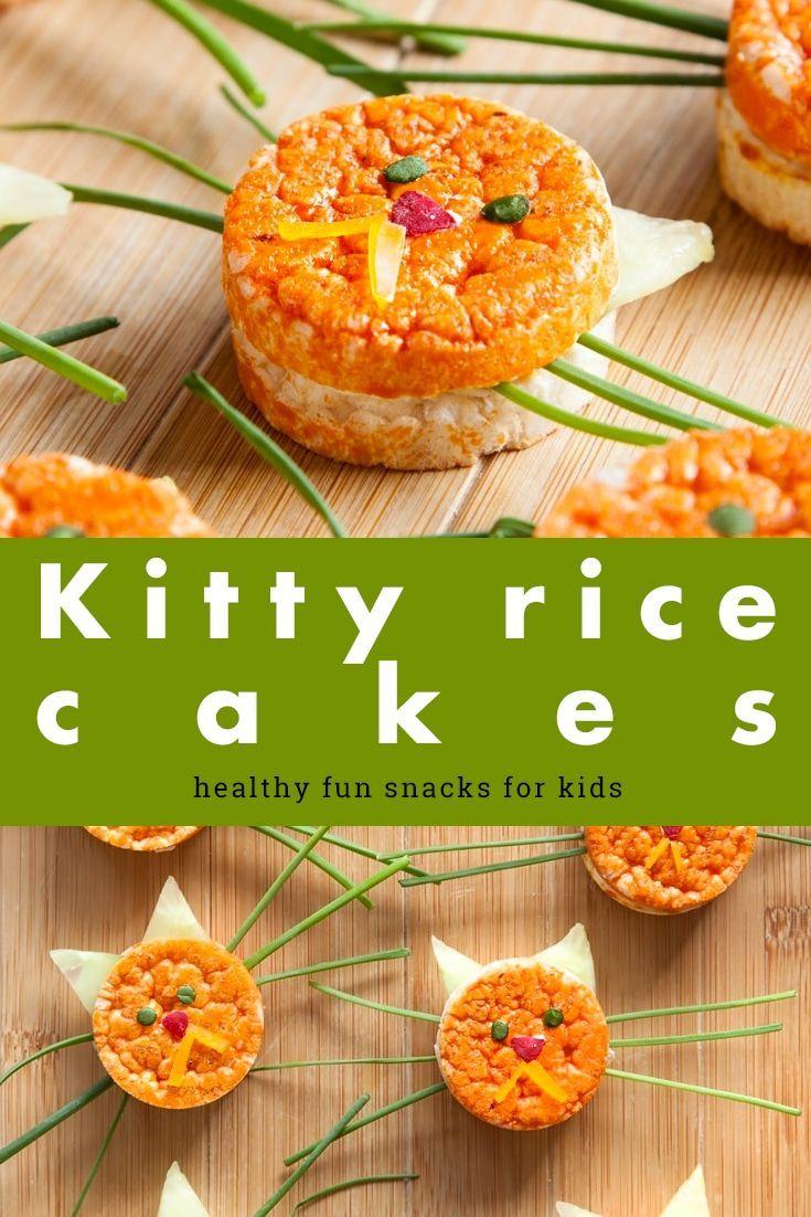 Healthy kitty rice cakes recipe healthy savory snacks