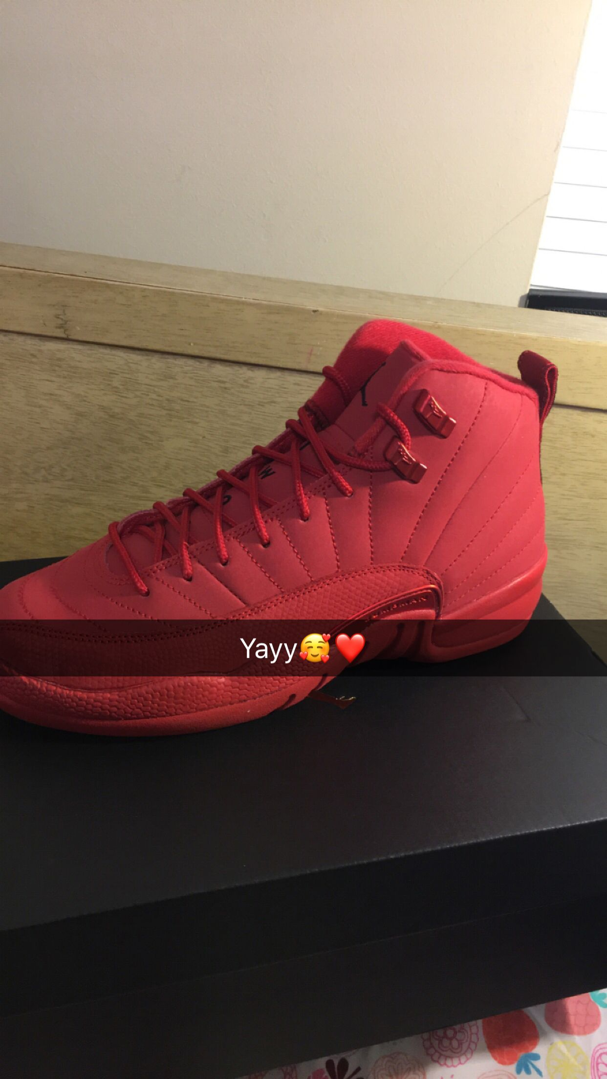 pretty nice 45822 8496b Red 12s | Jordans in 2019 | Shoes, Shoes sneakers, Jordan ...