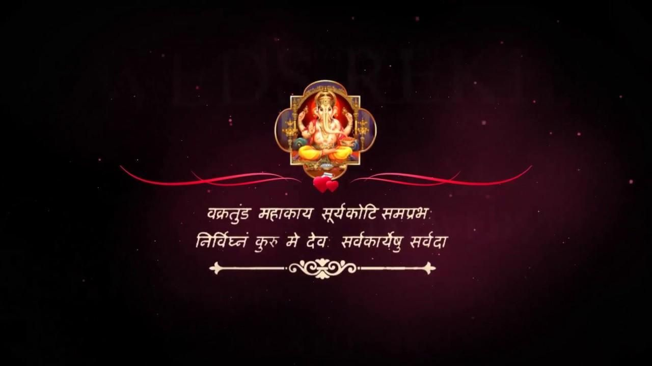 3 Indian Wedding Invitation After Effects Templates Free Download