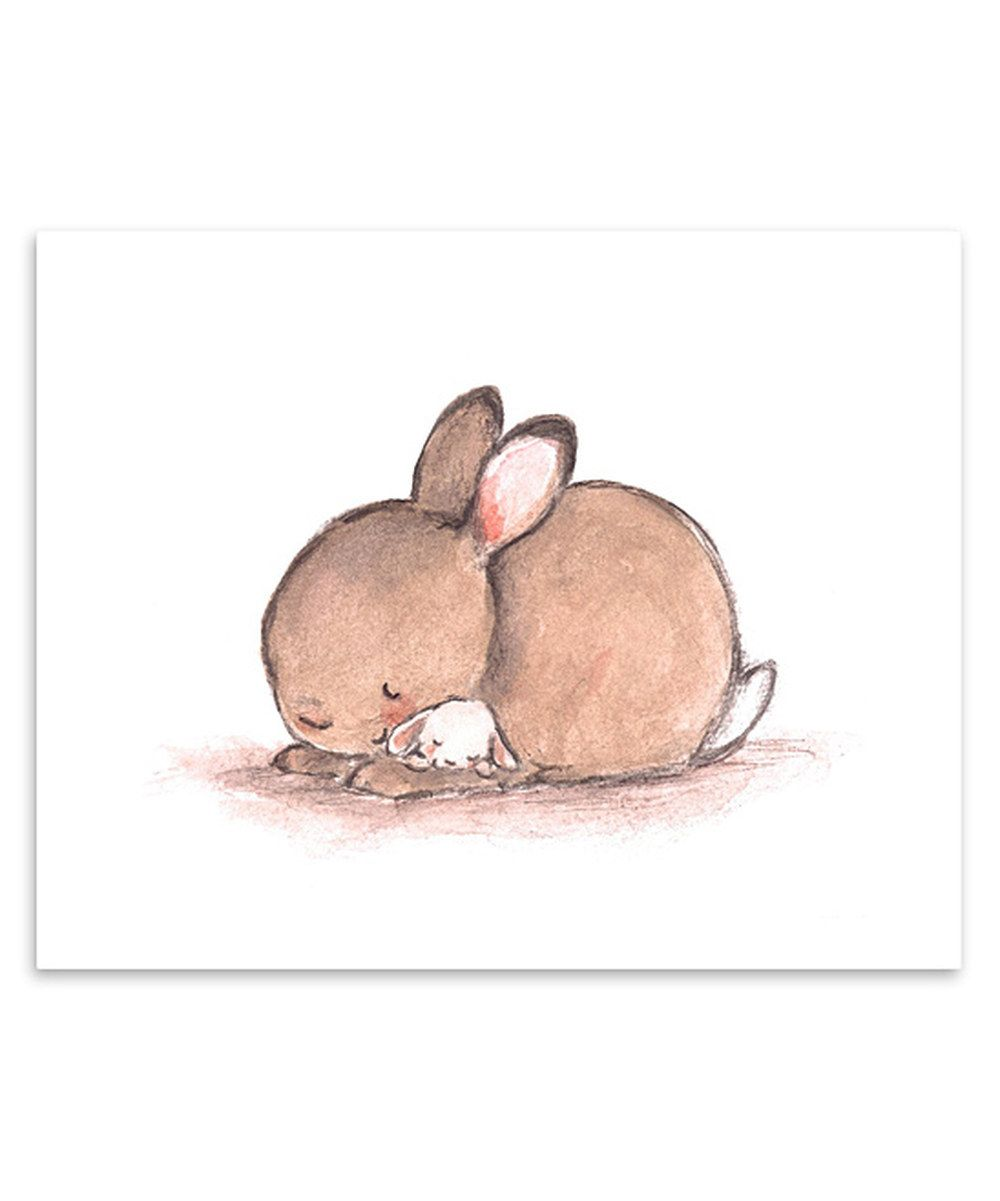 Look at this Baby Mine Bunny Print on #zulily today!