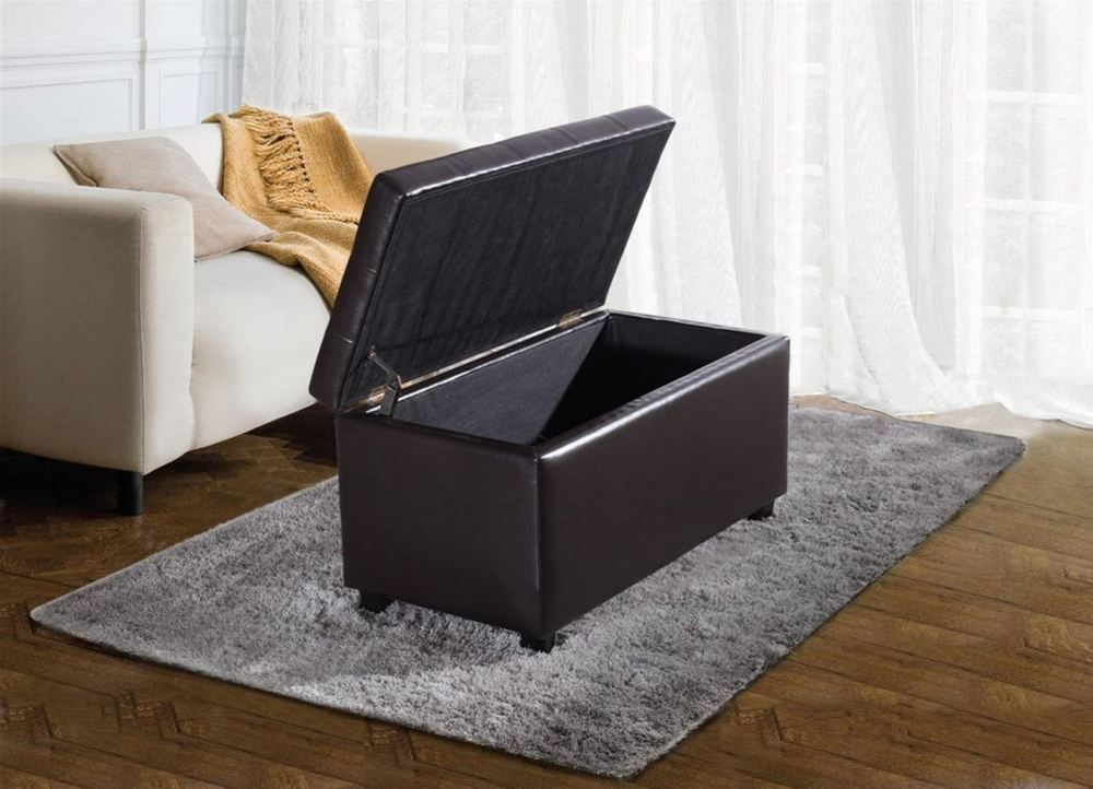Storage Coffee Table Ottoman Benches for Entryway Shoe Storage ...