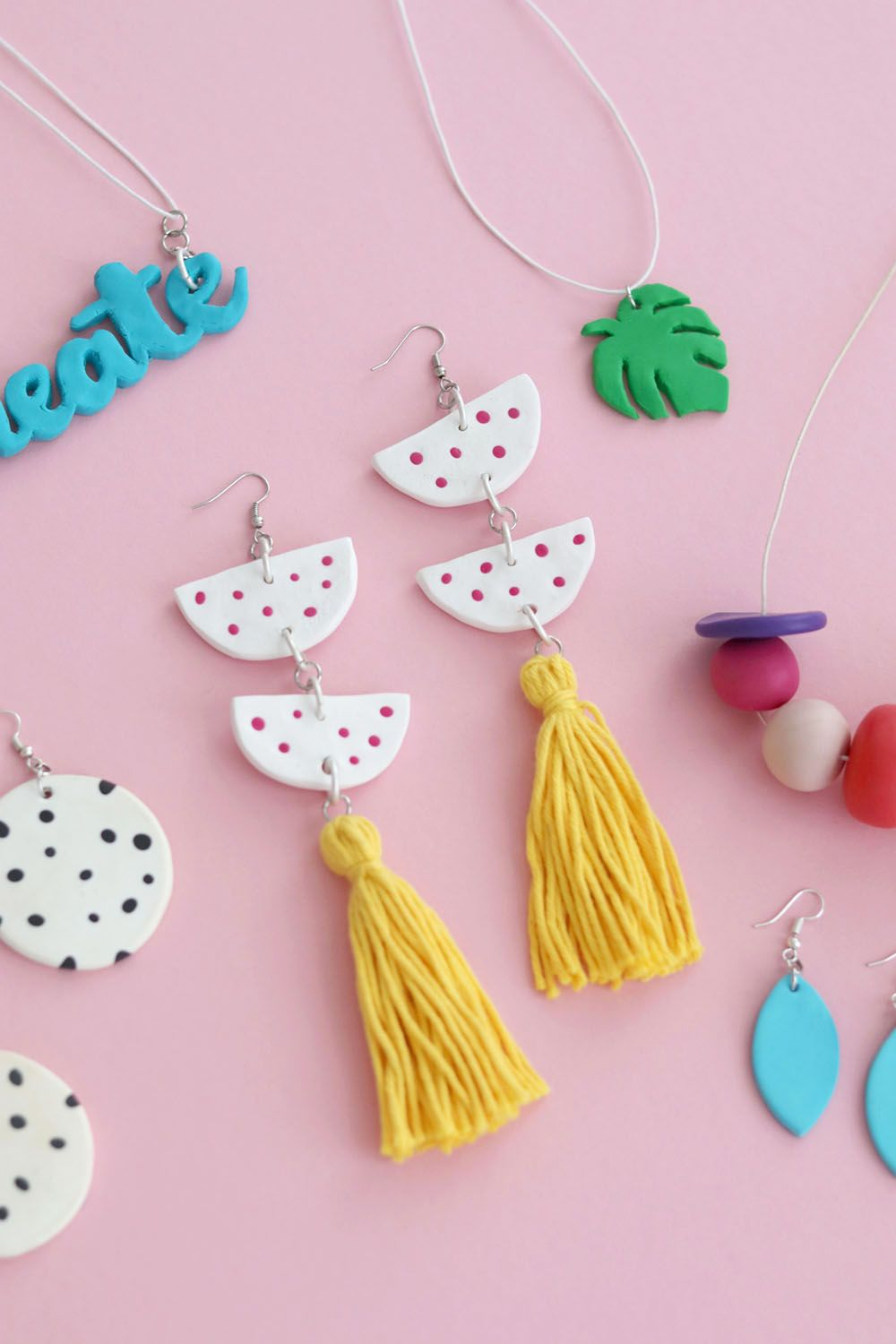 Diy Fimo Statement Earrings Five Further Fimo Diy Projects Do