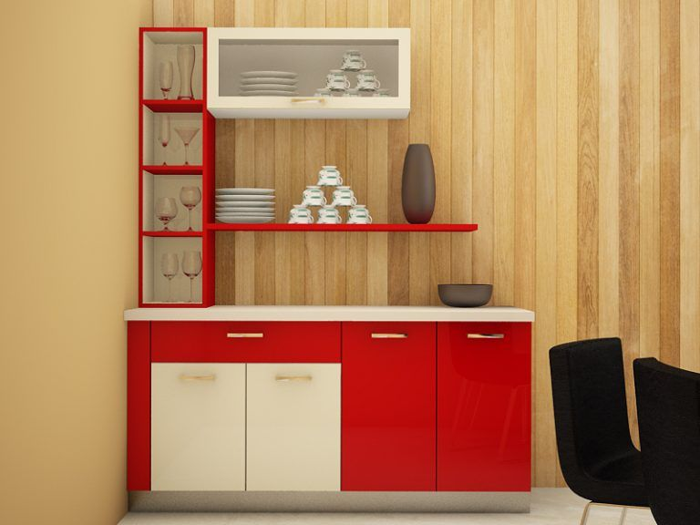 5 Classy Crockery Cabinet Designs (With images) | Crockery ...