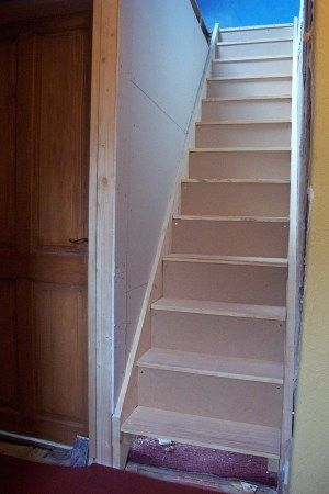 Loft Stairs Trappa Forvaring