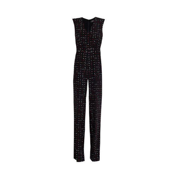 eed0bc151ef1 Giulietta New York Polka Dot Star Jumpsuit ( 905) ❤ liked on Polyvore  featuring jumpsuits