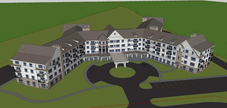 Grand living senior living complex seeks city support