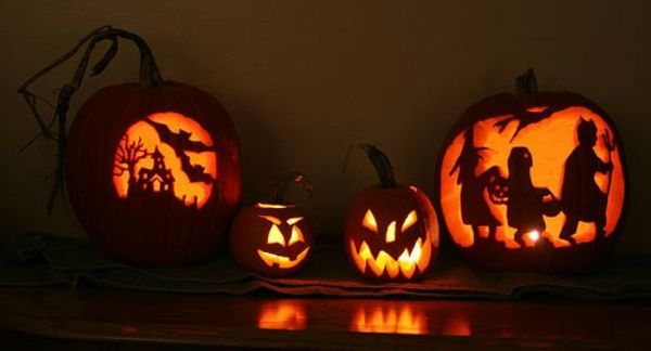 schreckliche k rbis gesichter schneiden halloween. Black Bedroom Furniture Sets. Home Design Ideas
