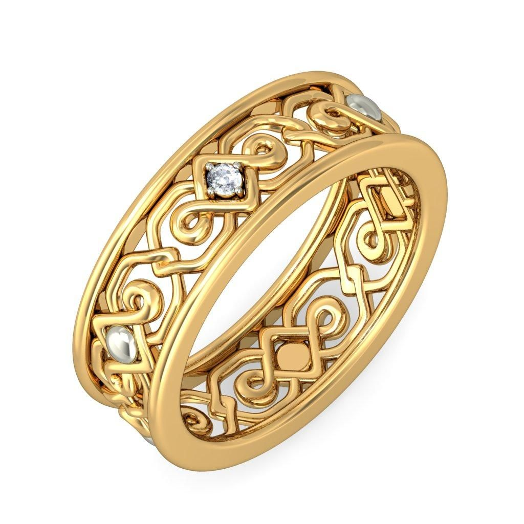 The 16 Most Beautiful Gold Ring Designs | Ring designs, Gold rings ...
