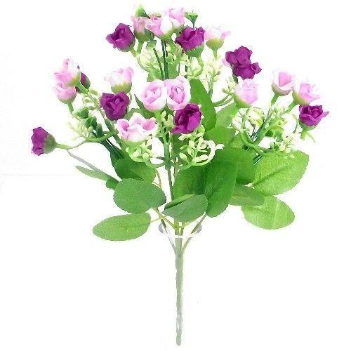 Flowers Light Pink Set of 3 Artificial 62cm Physostegia Sprays//Stems