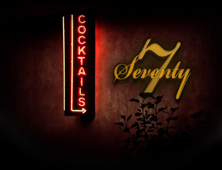 About Seventy7 Lounge Lounge North Neon Signs