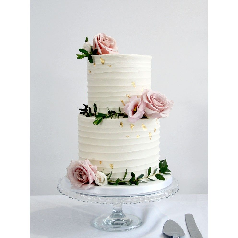 Pin By Sophie Binette On Fall Wedding Simple Wedding Cake Wedding Cake Flowers Simple Tiered Wedding Cake