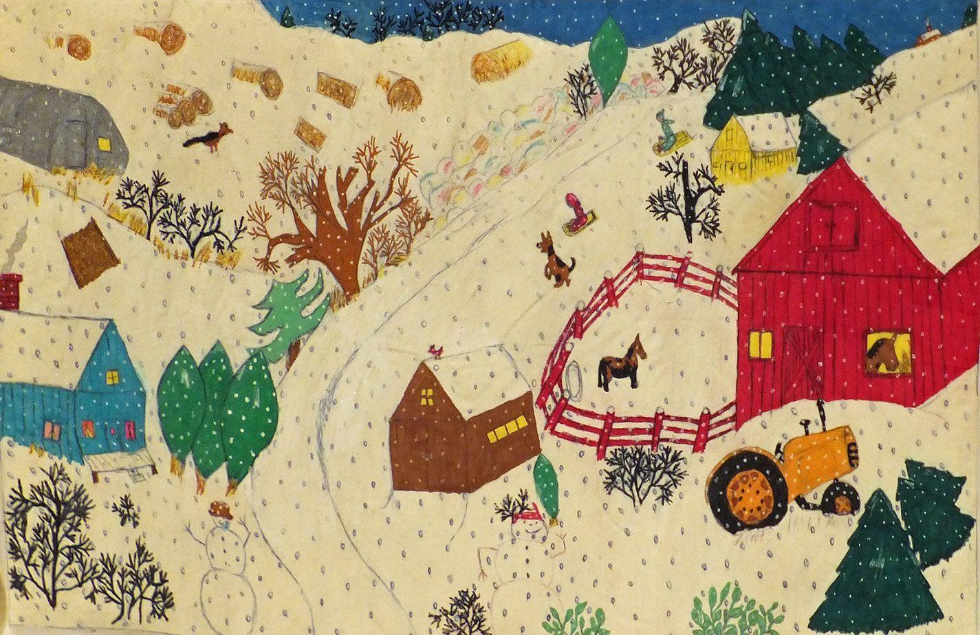Outsider Art Outsider Folk Art Gallery Outsider Art Mildred Tice Tim006 Art Naive Art Outsider Art