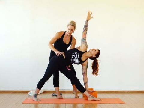 the benefits of yoga practising for athletes By: sarah brodie, ryt and holistic nutritionist.
