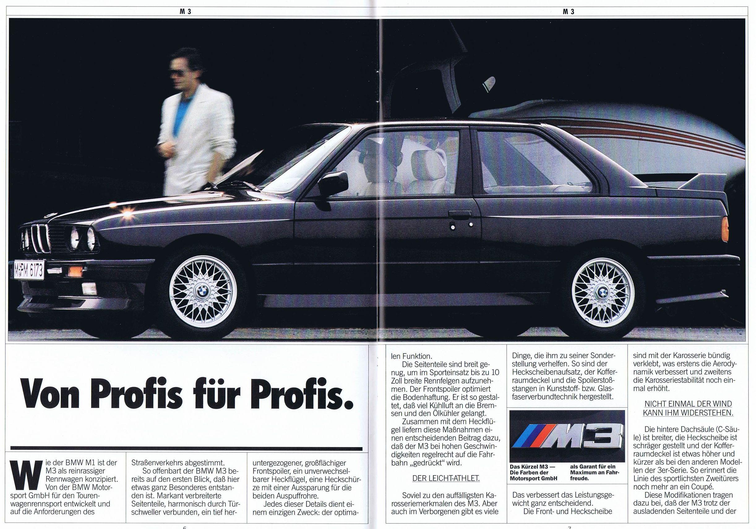 1987 BMW M3 side