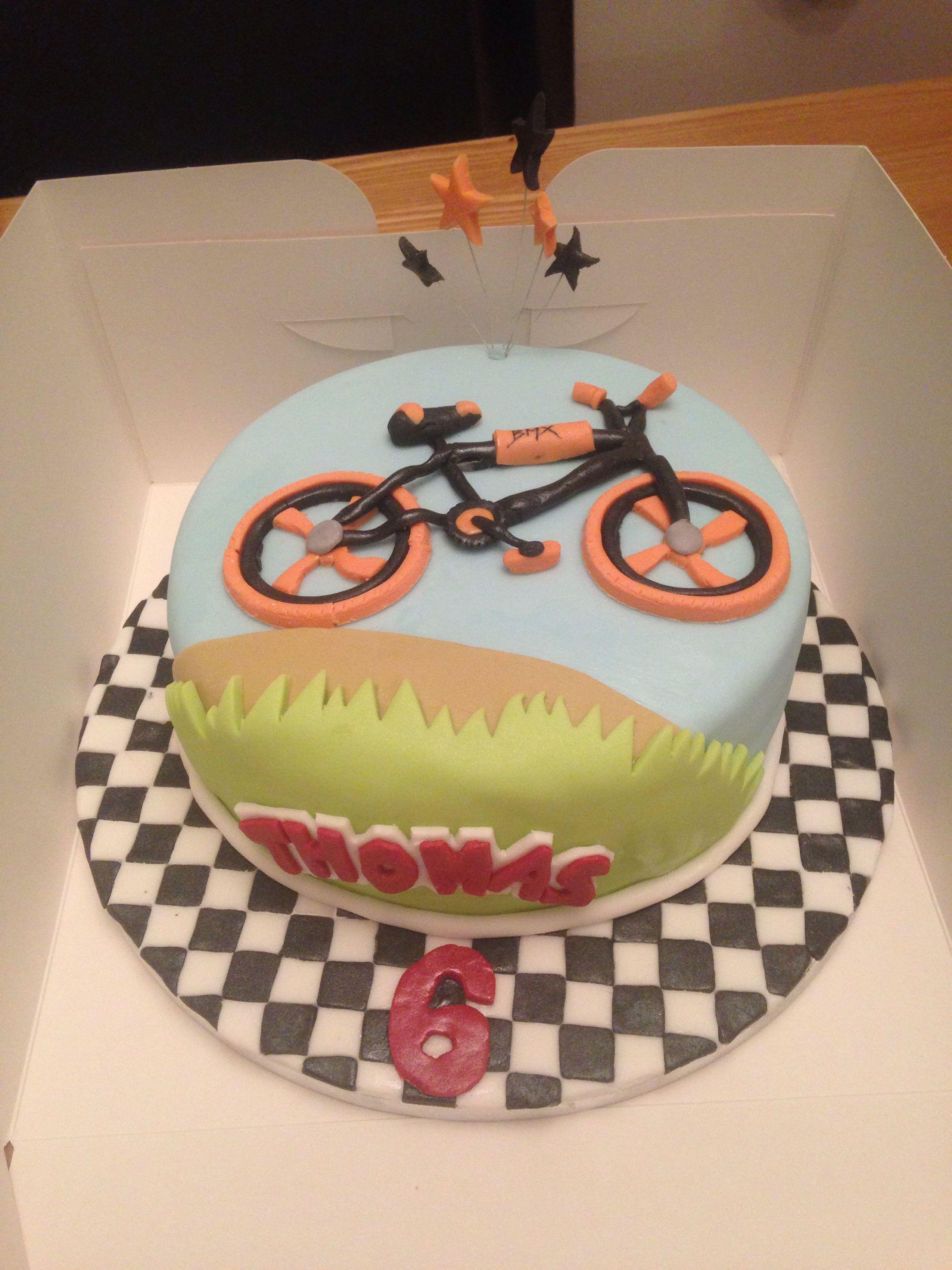Bmx Bike Cake Sports Theme Cake Ideas Pinterest