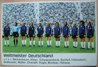Die Deutsche Fussball Nationalmannschaft Weltmeister 1974