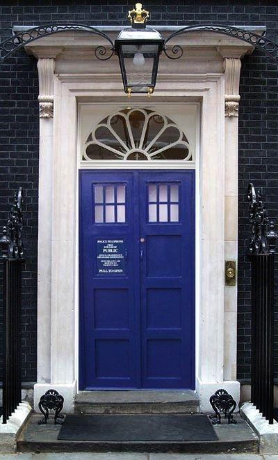 Awesome - if it was just a blue door it would be stunning you realise & Front Door | Door paint colors Front doors and Tardis door pezcame.com