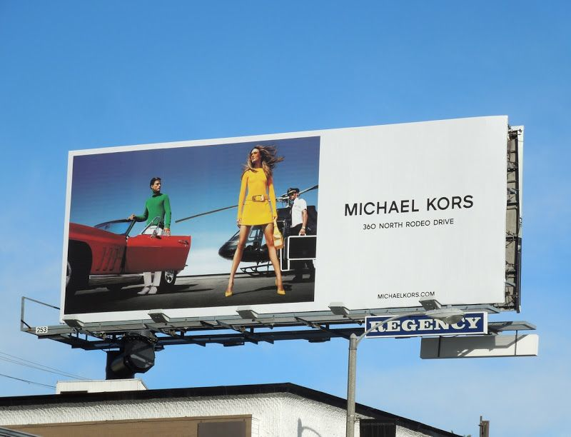 Michael Kors Retro S S 2013 Fashion Billboard Cool Billboards Pinterest Billboard