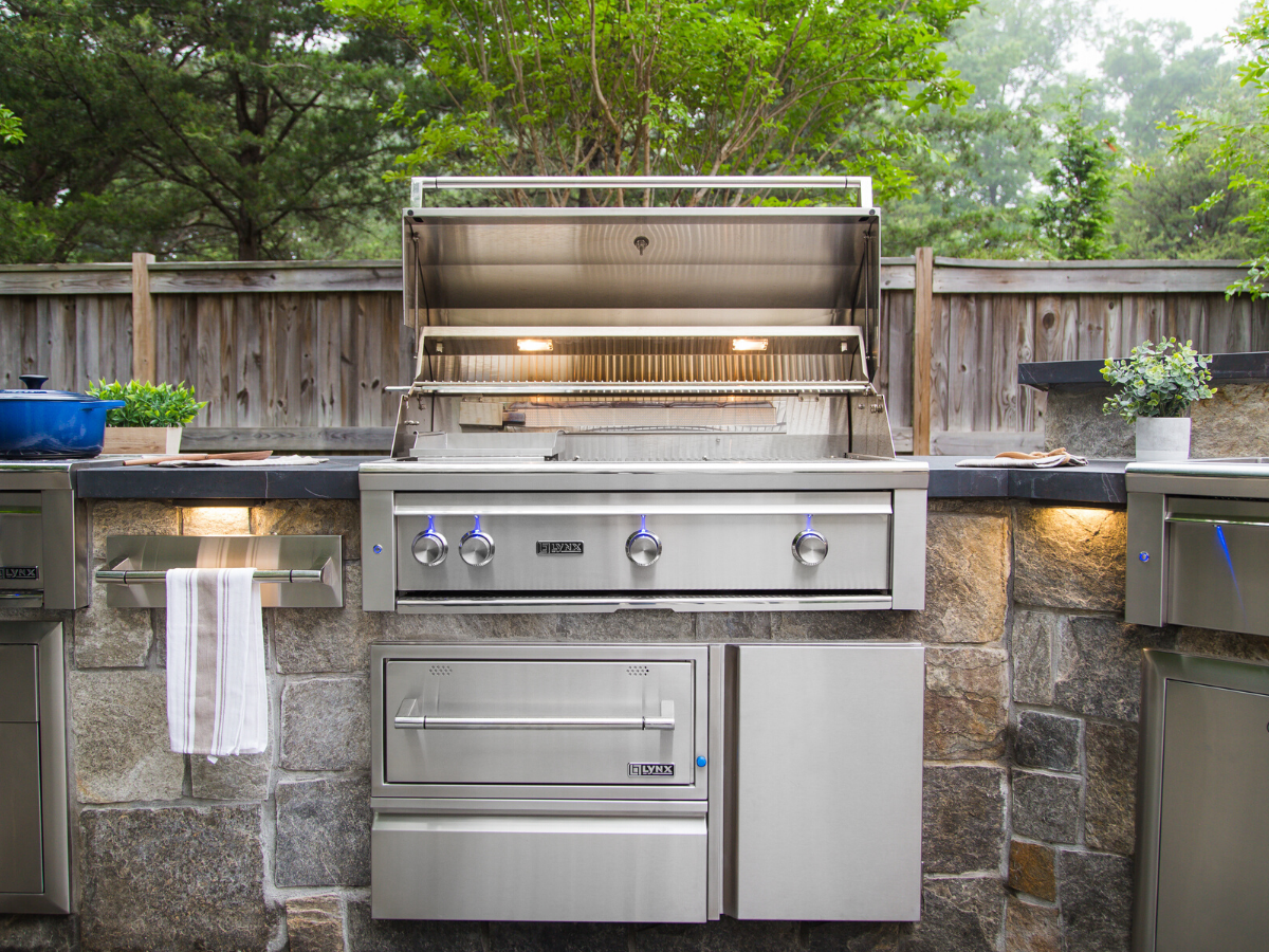 Design A Beautiful And Unique Outdoor Cooking Station Right In