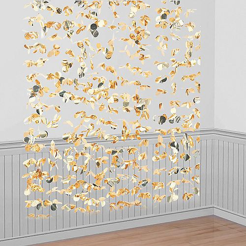 Ginger Ray Metallic Gold Photo Booth Backdrop 5 1/2ft x 6 ...