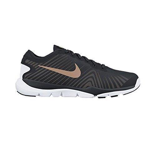 Women's Nike Flex Supreme 4 Training Shoe Black/Red Bronze/White Size 7.5 M