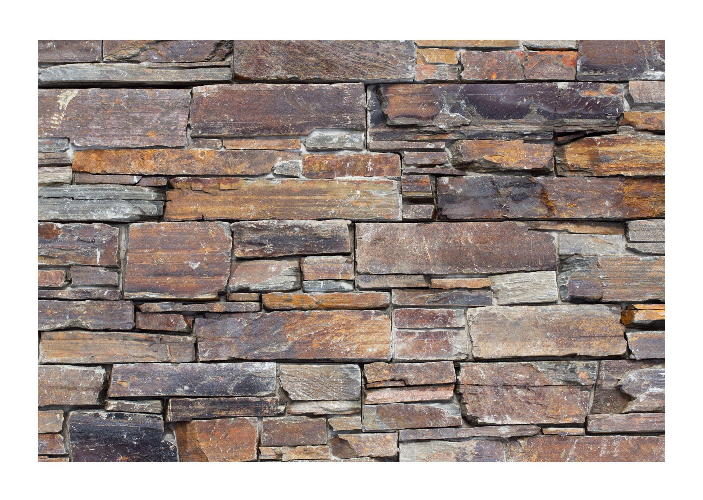 Attractive Schiefer Natursteinverblender Auf Beton Für Den Innen Und Außenbereich